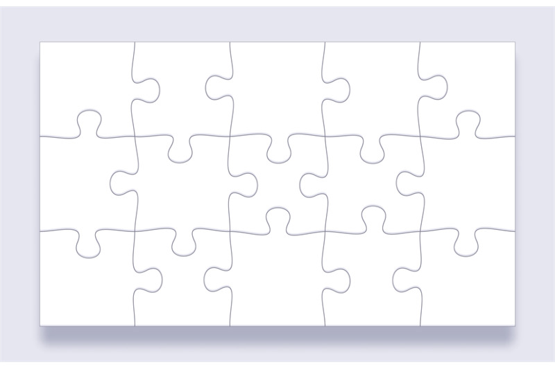 Puzzle Pieces Grid Jigsaw Tiles Mind Puzzles Piece And Jigsaws