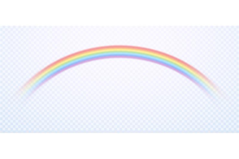 Realistic Rainbow Colorful Rain Sky Rainbows Colors And Gay