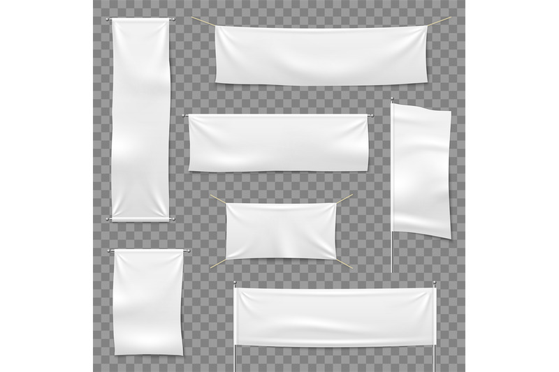 Textile Advertising Banners Flags And Hanging Banner Blank