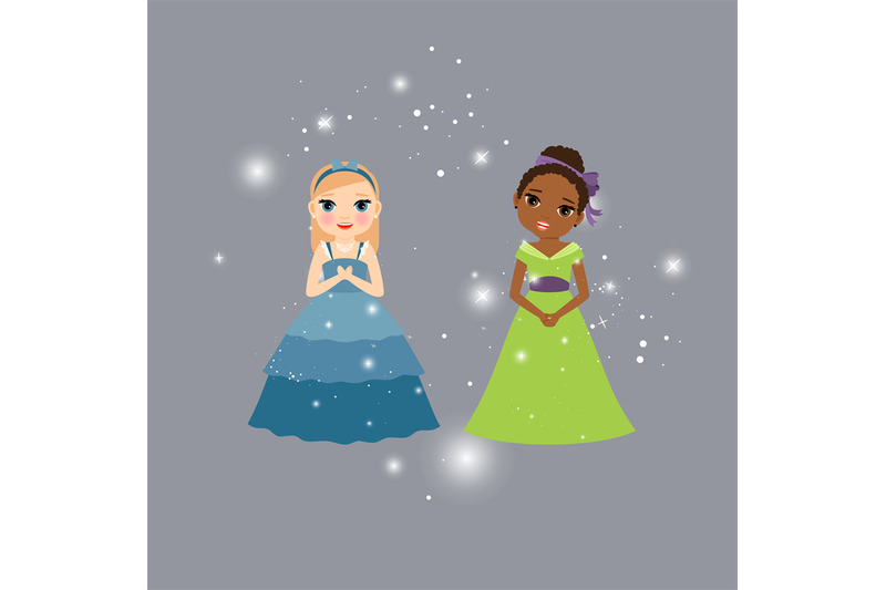 Beautiful Princess Cartoon Characters By Smartstartstocker