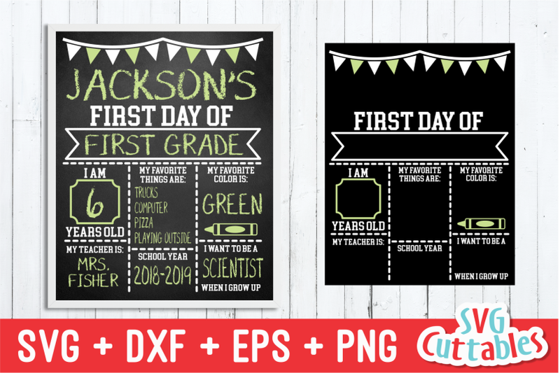 Flags First Day Of School Last Day Of School Svg Cut File By