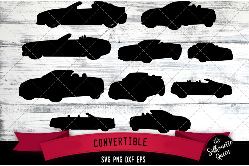 Convertible Svg File Svg Cut File Silhouette Studio Cricut