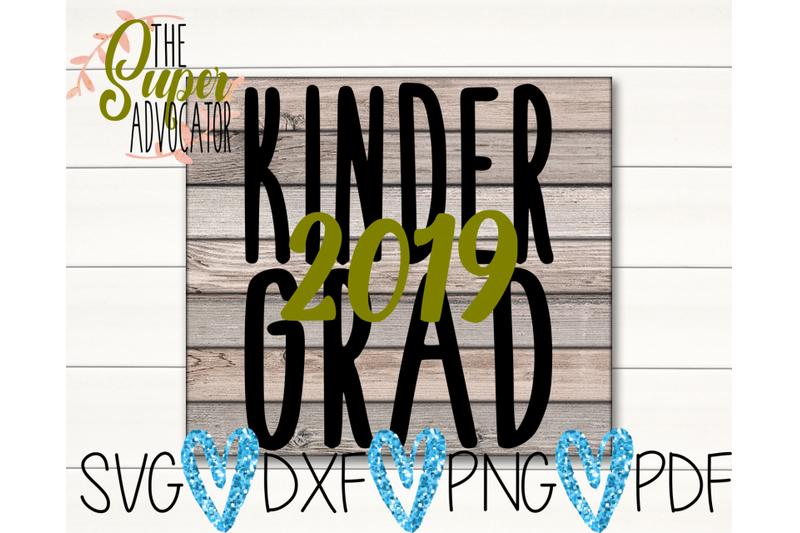 Kindergrad 2019 Svg Pdf Png Dxf Design By Thesuperadvocator Thehungryjpeg Com