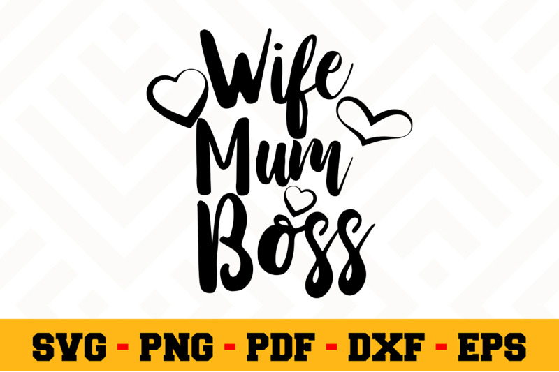 Wifi Mum Boss Svg Boss Lady Svg Cut File N042 By Svgartsy