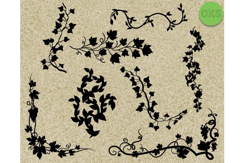 Vines Svg Bundle Vine Svg Cutting File For Cricut By Crafteroks