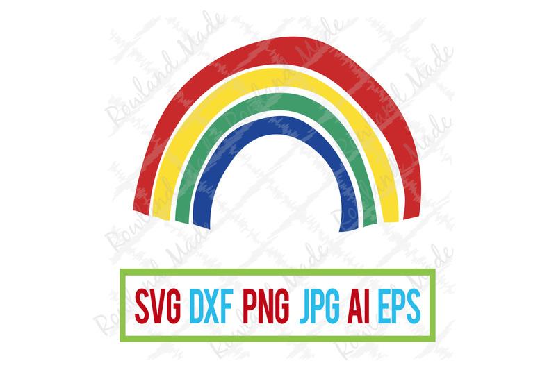 Primary Rainbow Svg Rainbow Svg Rainbow Baby By Rowland Made
