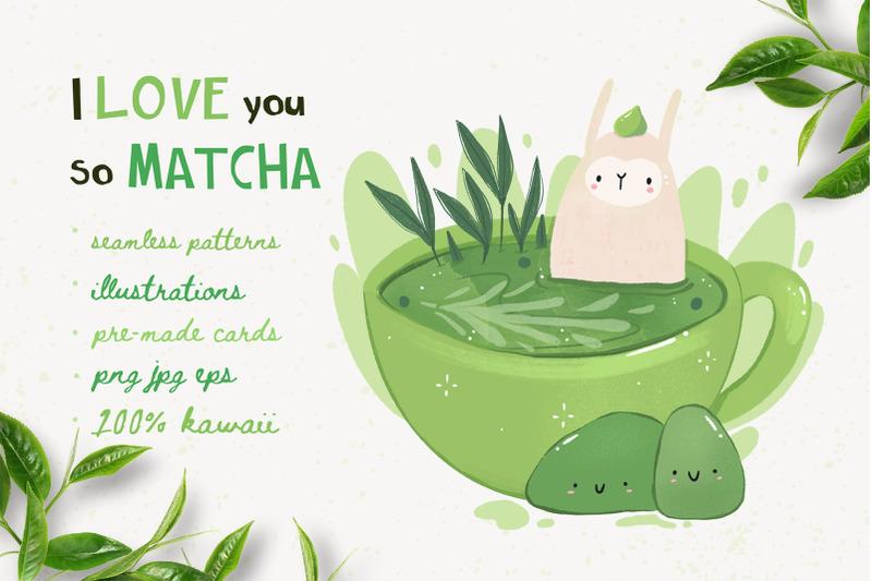 I Love You So Matcha By Twisted Tail Thehungryjpeg Com