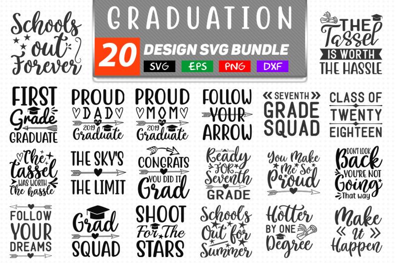20 Graduation Svg Bundle By Teewinkle Thehungryjpeg Com