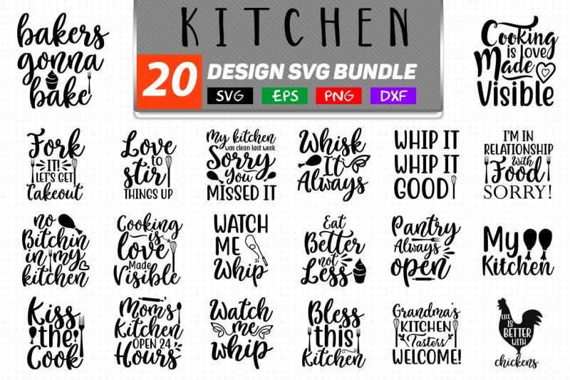 Kitchen Svg Bundle Kitchen Kitchen T Shirt By Teewinkle
