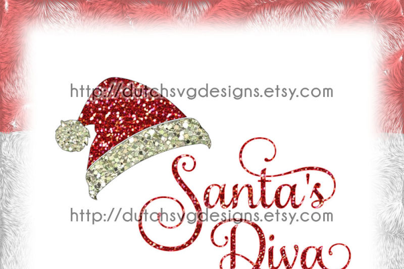 Free Cutting File Santa S Diva With Hat In Jpg Png Svg Eps Dxf For Cricut Silhouette Cameo Plotter Christmas Xmas Pthre Noul Santa Claus Crafter File 6787878 Free Svg