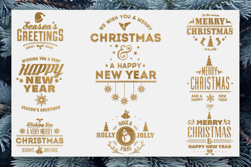 Christmas Quotes Svg Pack 2 By Craft N Cuts Thehungryjpeg Com