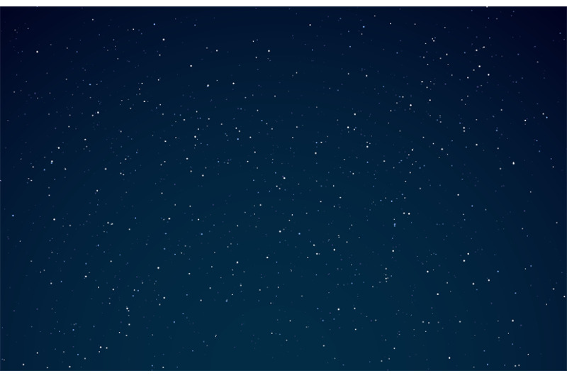 Night Sky Starry Galaxy Night Universe With Shining Stars Space