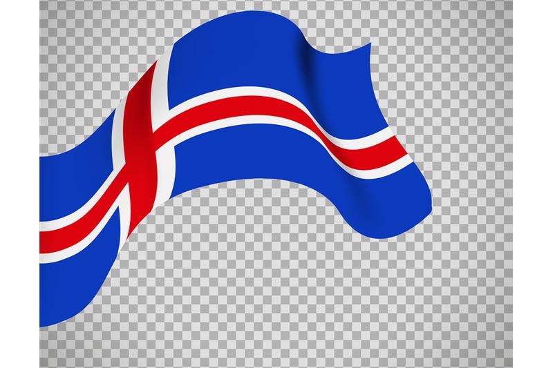 Iceland Flag On Transparent Background By Smartstartstocker