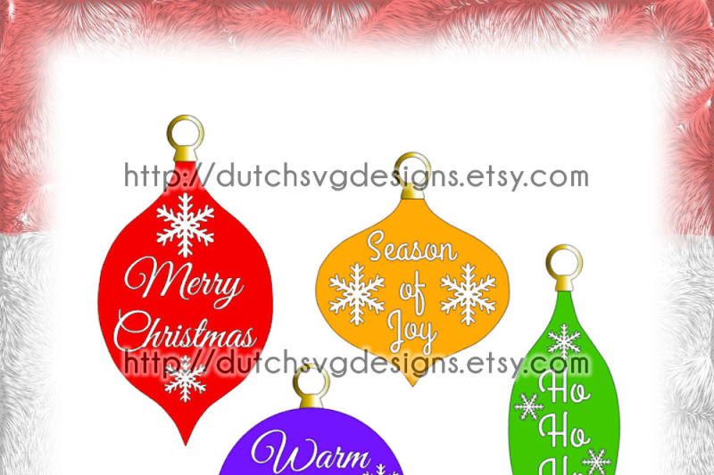 Christmas Ornaments Cutting Files With Text And Snowstars In Jpg Png Svg Eps Dxf For Cricut Silhouette Balls Bulb Xmas Tree Decoration Scalable Vector Graphics Design Free Icons In The