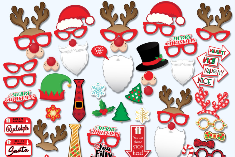graphic about Christmas Photo Props Printable identify Cost-free Xmas Printable Props, picture-booth props, Xmas