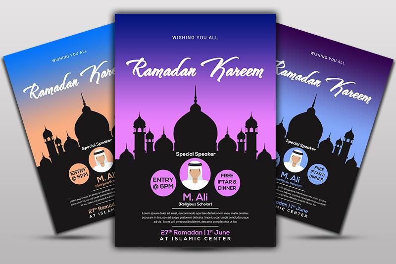 Ramadan Kareem Flyer By Ayme Designs Thehungryjpeg Com