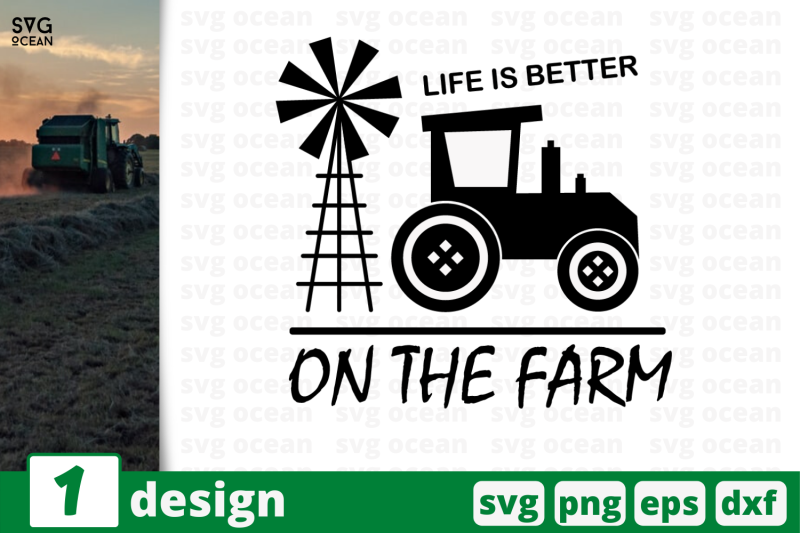 1 Life Is Better On The Farm Svg Bundle Quotes Cricut Svg By