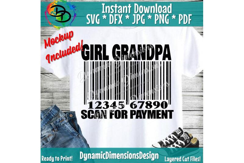 Girl Grandpa Svg Father S Day Svg Grandpa Svg Funny Dad Svg
