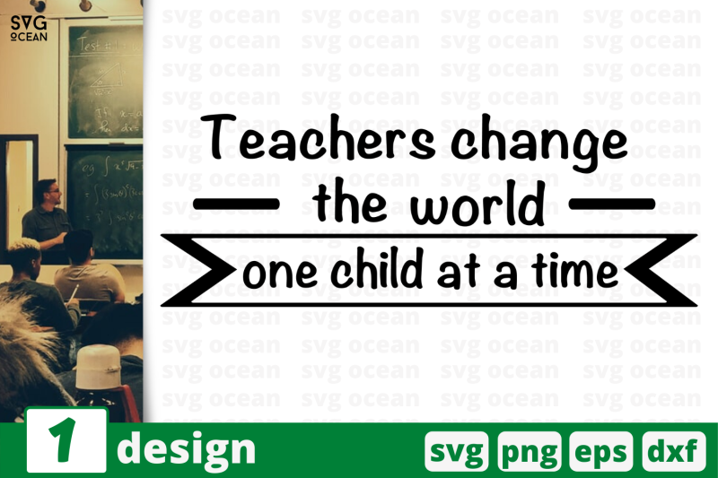 1 Teachers Change The World Svg Bundle Quotes Cricut Svg By