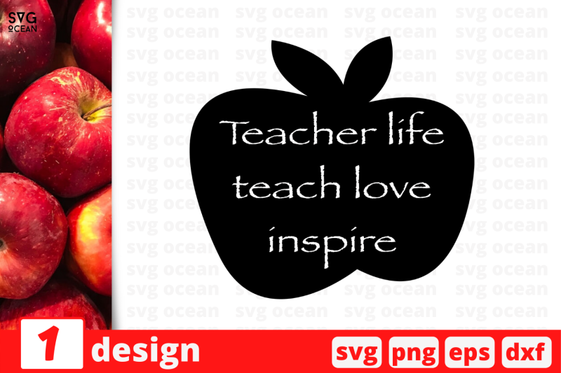 1 Teacher Life Svg Bundle Quotes Cricut Svg By Svgocean