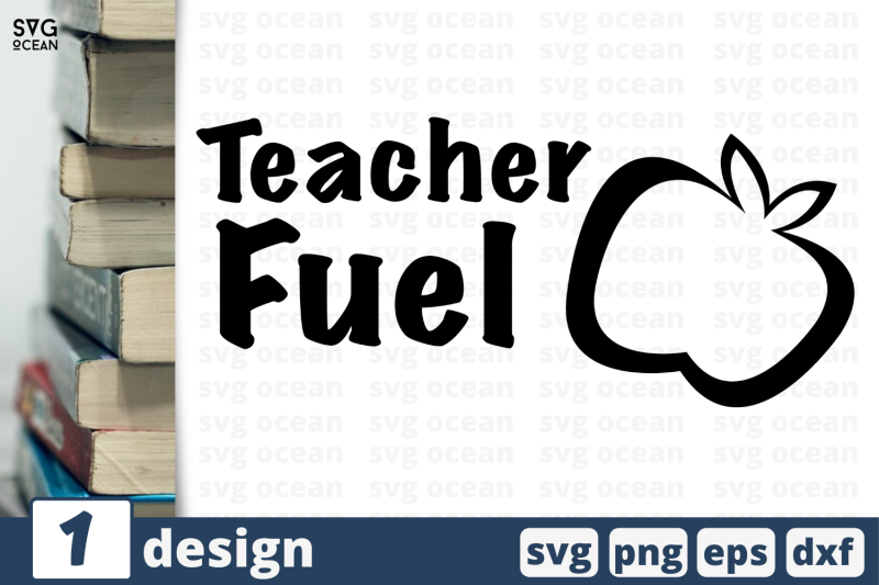 1 Teacher Fuel Svg Bundle Quotes Cricut Svg By Svgocean