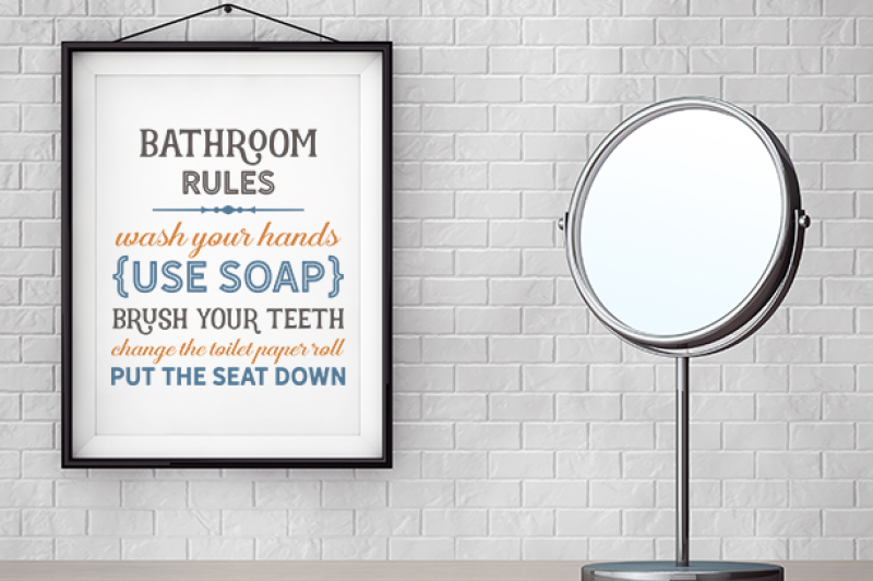 Free Bathroom Rules Crafter File All Free The Best Free Svg Files For Cricut Silhouette Free Cricut