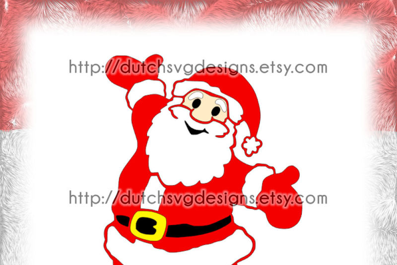 photo about Santa Claus Printable identify Santa Claus slicing report and/or printable, inside Jpg Png SVG