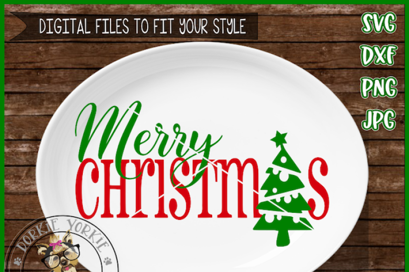 Merry Christmas Word Tree Svg Dxf Png Scalable Vector Graphics Design Free Svg Files Download