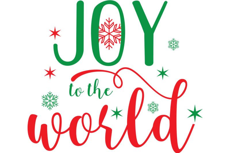 30+ Joy To The World – Svg Cutting File Design