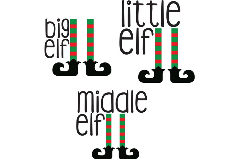 Free Little Elf Svg Middle Elf Svg Big Elf Svg Crafter File Free 800006 Svg Cut Files