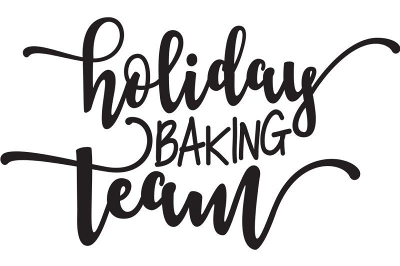 Free Holiday Baking Team SVG - Free Disney SVG Cut Files For
