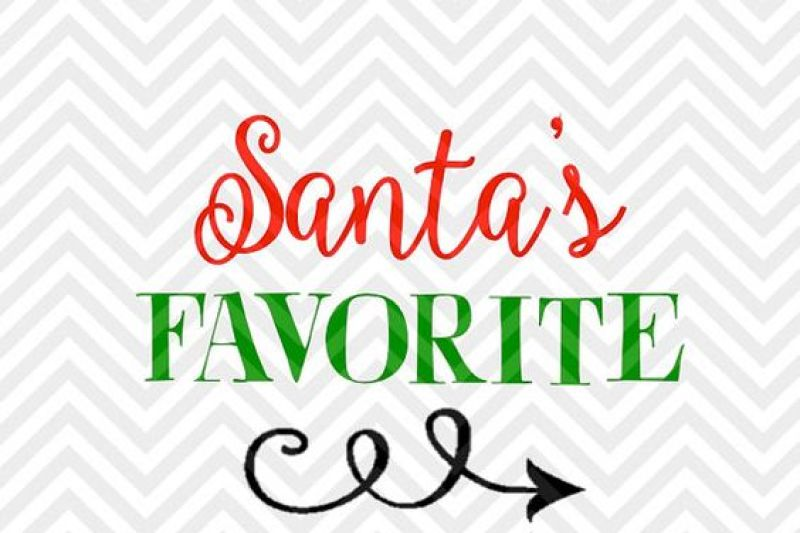 Santa S Favorite Christmas Elf Svg And Dxf Cut File Png