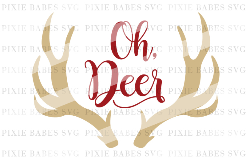 Oh Deer Design Download Svg Files British Spelling
