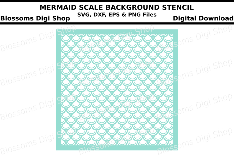 Free Mermaid Scales Background Svg Dxf Eps And Png Cut Files Crafter File Get Free Svg Png Download Gallery By Caluya Design