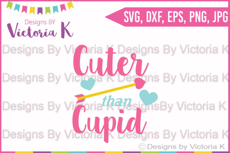 Free Cuter Than Cupid Valentine S Day Love Cupid Svg Dxf Cricut Silhouette Svg Free Cat Zentangle Svg