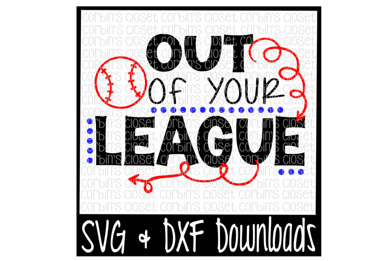 Free Baseball Svg Out Of Your League Svg Free Jeep Wave Svg File