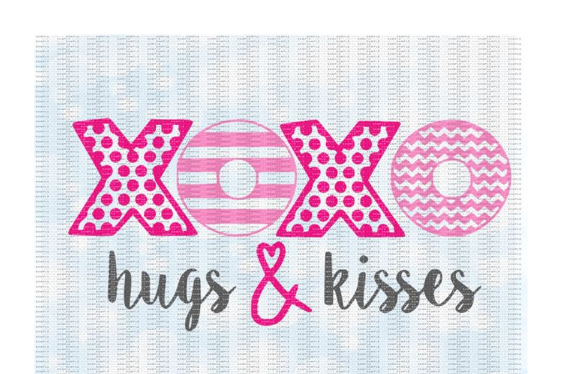 Free Xoxo Hugs And Kisses Cutting Printing Files Crafter File Free Commercial Use Svg Cut Files