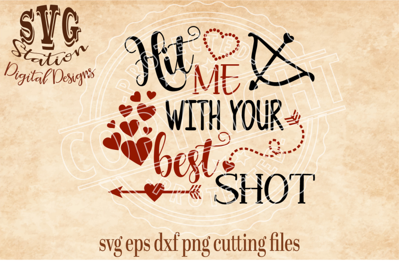 Hit Me With Your Best Shot Svg Dxf Png Eps Cutting File For Silhouette Cricut Scalable Vector Graphics Design Cut Files Design Vector