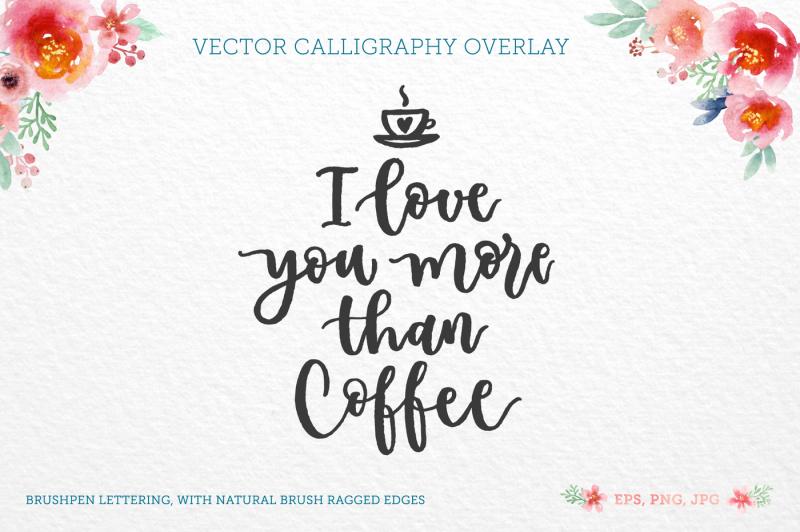 More Than Coffee By Zira Zulu Thehungryjpeg Com