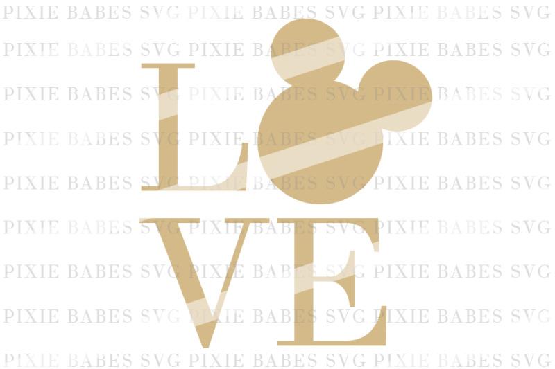 Free Disney LOVE Crafter File - Free SVG Cut Design Files for Cricut