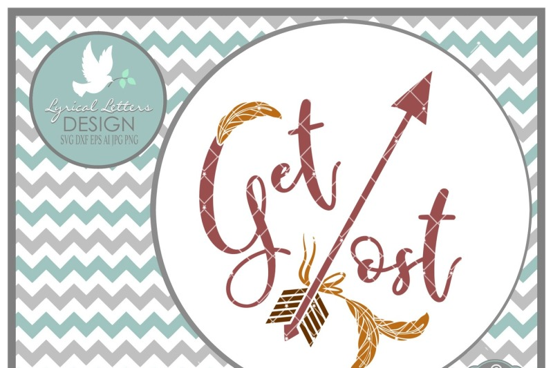 Get Lost With Feather And Arrow Ll181a Cut File In Svg Dxf Eps Ai