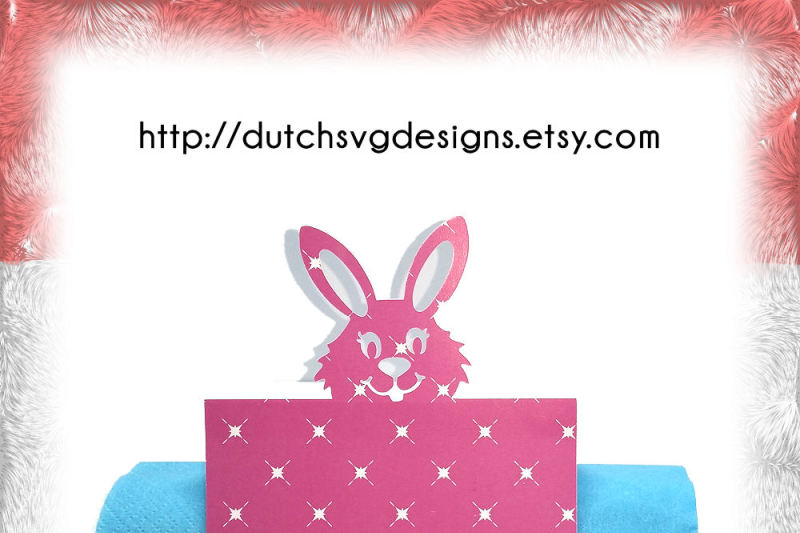 Free Name Table Place Card Cutting File With Easter Bunny In Jpg Png Svg Eps Dxf For Cricut Silhouette Place Cards Diy Vector Cutout Crafter File The Best Free Svg Files Cricut