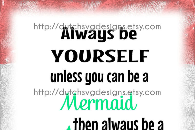 Text Cutting File Mermaid In Jpg Png Svg Eps Dxf For Cricut