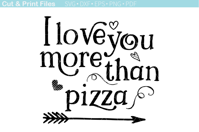 Cookies For Santa Svg Free Free I Love You More Than Pizza Svg