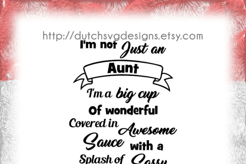 Text Cutting File Aunt In Jpg Png Svg Eps Dxf For Cricut