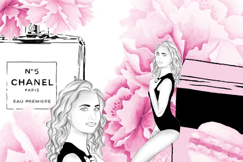 Fashion Girl Clipart By Digitaldesignsandart Thehungryjpeg Com