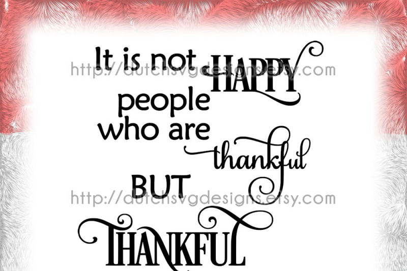 Text Cutting File Thankful In Jpg Png Svg Eps Dxf For Cricut