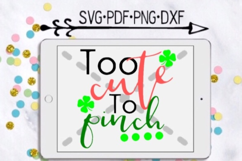 Too Cute To Pinch Cut Design By Munchkincutdesigns Thehungryjpeg Com