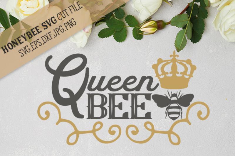 Queen Bee Cut File Design Free Beach Svg Cut Files
