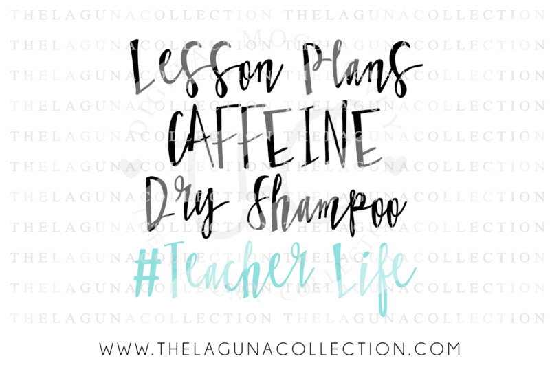 Free Teacher Life Lesson Plans Caffeine Dry Shampoo Svg Crafter File All New Free Svg Cut Crafters